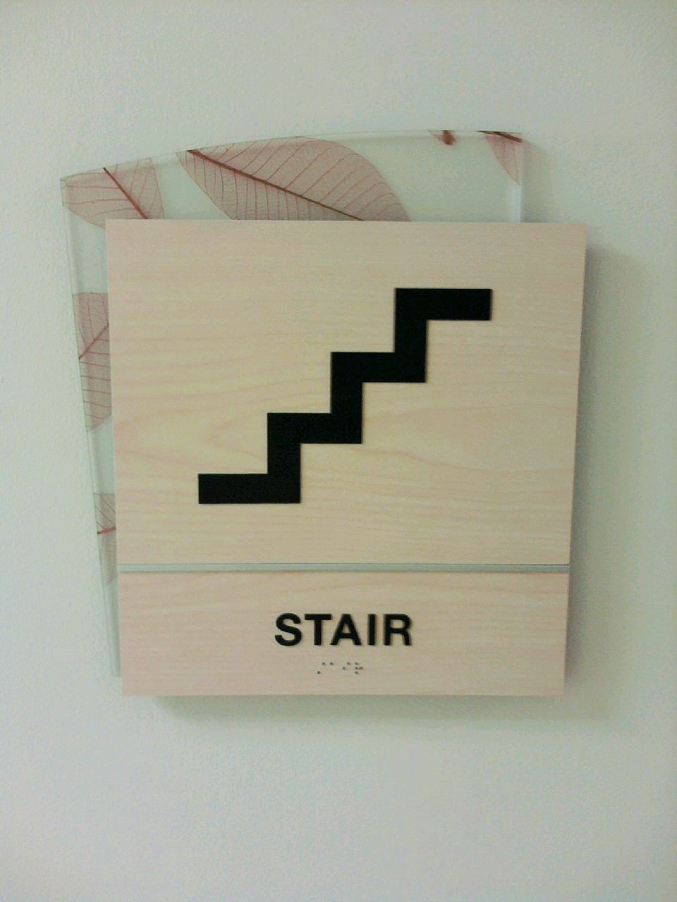 Stairs signs